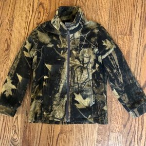 Columbia boys camouflage fleece size XS 6-7 yrs